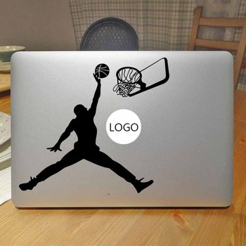 Basketbol Slam Dunk Laptop Sticker Apple Macbook Air için Çıkartması 13 Pro Retina 11 12 15 17 inç Mac Yüzey Kitap Mi Cilt Sticker